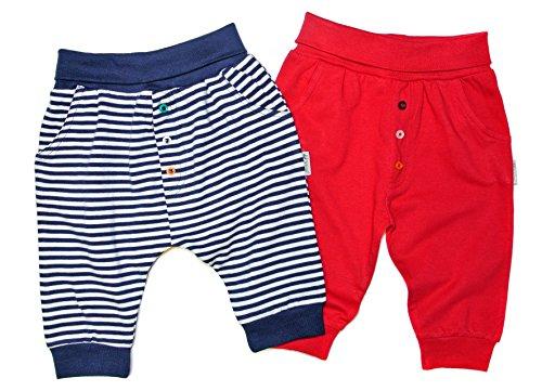 Gelati 16180238 16180238 Lot de 2 tee-shirts pour bébé Bleu/rouge - Bleu - Small