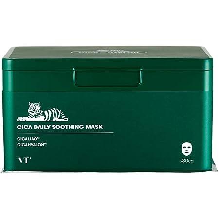 VTCOSMETICS(ブイティコスメテックス) 【正規品】シカデイリースージングマスク フェイスマスク 30枚