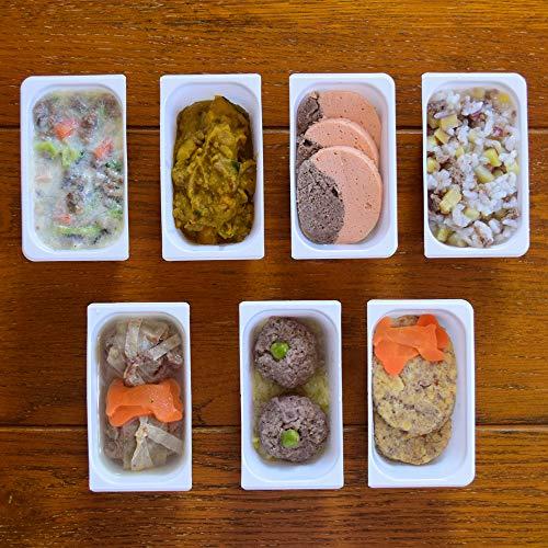 [テヅカヤマハウンドカム]犬 手作りご飯 お惣菜 冷凍 鹿肉の腎臓に優しい低リン7食セット ハウンドカム食堂