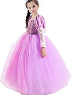 rapunzel halloween costume kids