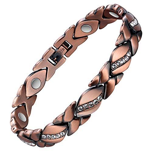 Jecanori Copper Magnetic Bracele...