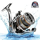 Cadence CS8 Spinning Reel, Ultralight Fast Speed Premium Magnesium Frame Fishing Reel with 10 Low Torque...