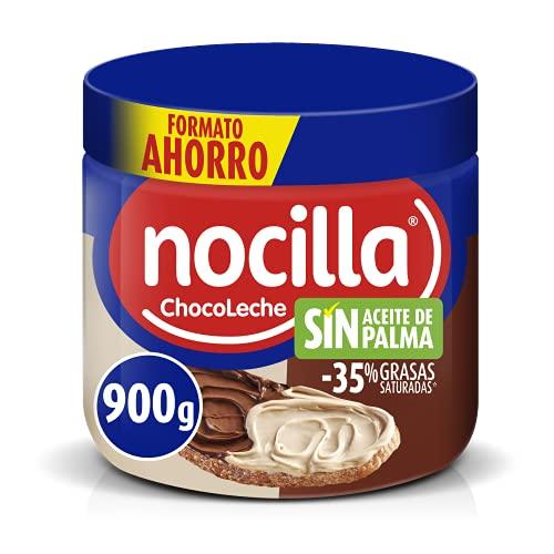 Nocilla Doble Crema de Cacao y Leche con Avellanas, Sin Aceite de...