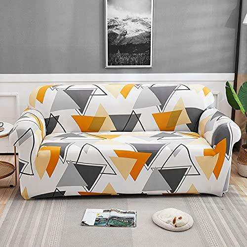 WXQY Sala de Estar Funda de sofá elástica con Todo Incluido Funda de sofá elástica a Prueba de Polvo en Forma de L sofá de Esquina Toalla Funda de sofá A10 2 plazas