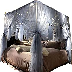 low noise canopy bed
