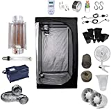 Kit Coltivazione Indoor 400W HPS Cooltube Protube - Grow Box 120x120x200 - Alimentatore ETI 2