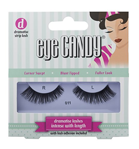 Eye Candy Strip Lashes 011 Dramatise 50's Look Natural False Lashes