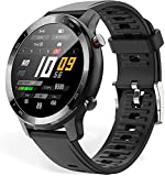 MISIRUN Smart Watch, 1.28' Activity Tracker, Fitness Trackers with Heart Rate Monitor, IP67 Waterproof Smartwatch, Sport Smartwatch Compatible with Android iOS Smart Phone for Men Women