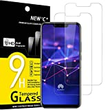 NEW'C Lot de 2, Verre Trempé Compatible avec Huawei Mate 20 Lite, Honor Play, Film Protection écran sans Bulles d'air Ultra Résistant (0,33mm HD Ultra Transparent) Dureté 9H Glass