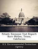 Potash: Emission Test Report: Kerr McGee, Trona, California