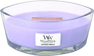 WoodWick Lavender Vanilla Hearthwick Ellipse Candle, 16 oz.