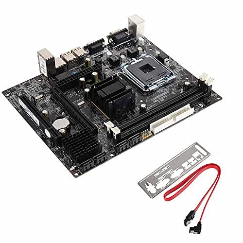 Mengdie G41 Motherboard LGA 775 DDR3 Soporte Dual Quad Core CPU para computadora de escritorio