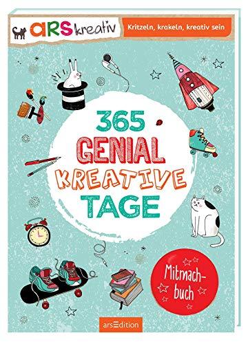 365 genial-kreative Tage: Ein Mitmachbuch