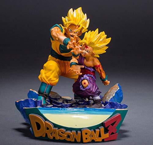Figura De Acción De Anime Anime Dragon Ball Z Goku Gohan Padre E Hijo Kamehameha Power Scencs PVC Modelo Dragon Ball Super Figurita Juguetes 22Cm