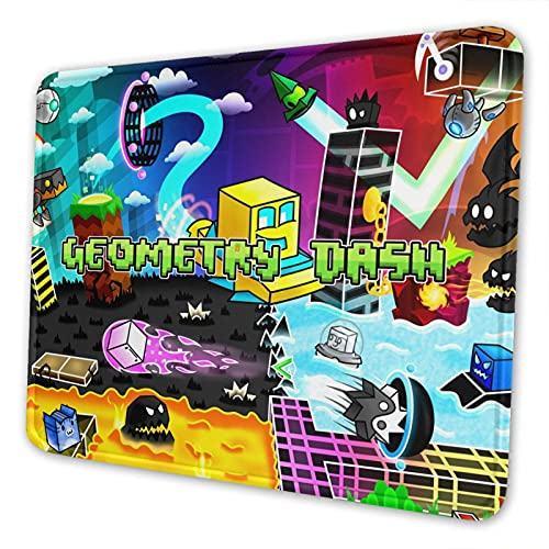 Geo-metry Mouse Pad Non-Slip Rubber Gaming Mouse Pads for Office Home