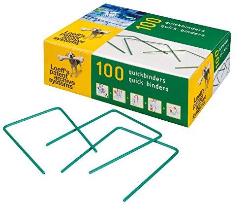 Loeff's Patent Schnellbinder, 100 Stück