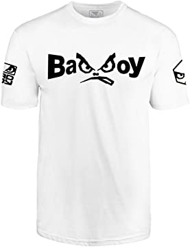 MMA Boxing Performance T-Shirt Bad Boy Black G.P.D