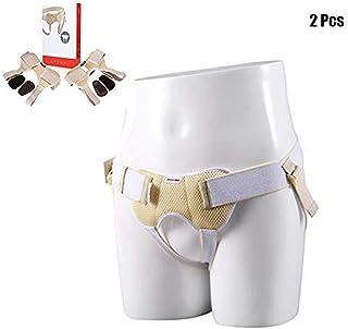 RZiioo Soporte de Hernia inguinal para bebés de 2 Piezas, cinturón de Hernia Doble Que se Ajusta a la Izquierda/Derecha/Ambos Lados, Llaves de Ingles,Children