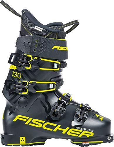 FISCHER Herren Skischuhe Ranger Free 130 Walk DYN schwarz/gelb (703) 28,5