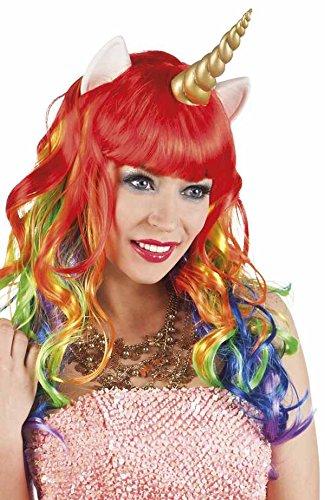 Unicorn Fairy Tale Wig Fancy Dress Wig