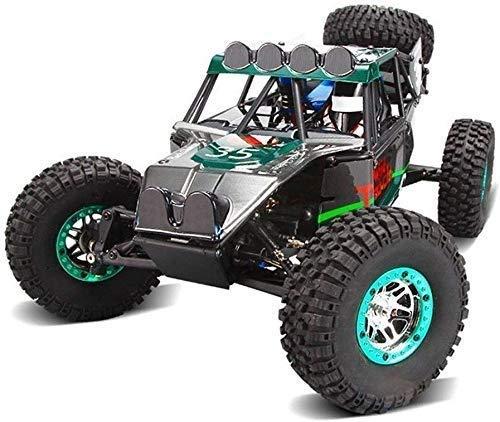 DJXWZX 2,4 GHz 4WD desierto de carreras de coches de montañ
