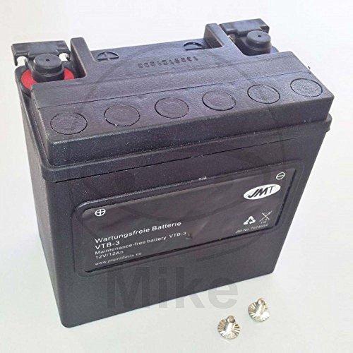 JMT Batterie Motorrad Vtb-3 V-Twin 7070027 Harley Davidson XG 500 4043981126860