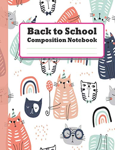 Back to School Composition Notebook: Pusheen Cats Journal and Notebook for Girls and Boys - Pusheen Cats Notebook 8-1/2 inch by 11 - Lined and Blank ... Journaling (Pusheen Notebooks and Journals)