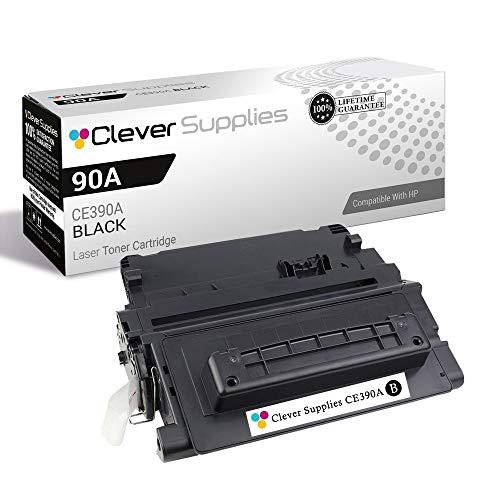 CS Compatible Toner Cartridge Replacement for HP 90A-MICR CE390A Black Laserjet 600 M601DN M601N M602DN M602N M602X M603DN M603N M603XH Laserjet M4555 M4555 MFP M4555F M4555FSKM M4555H MICR