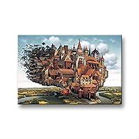 困難な星空アダルト解凍男の子と女の子の誕生日の贈り物の大パズル500ピース puzzle (Color : A)
