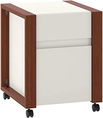 Bush Furniture Kathy Ireland Home Voss Modern 2 Drawer Mobile File Cabinet