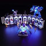 BRIKSMAX Led Lighting Kit for Iron Man -...