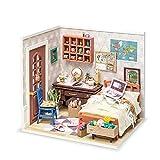 Rolife DIY Casas de Muñecas Miniaturas Madera para Montar Miniature House Maquetas para Construir Adultos Niñas y Niños 14 Años de Edad Hasta Vida maravillosa, Anne's Bedroom