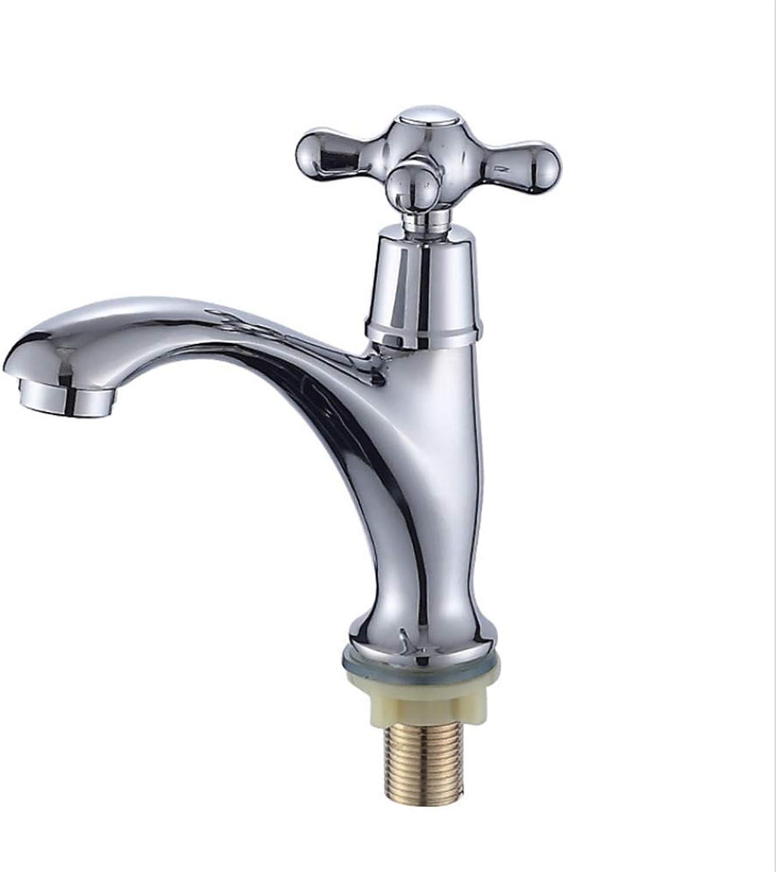 Basin Faucetbathroom Washbasin Copper Single Cold Water Faucet Washbasin Basin Basin Personality Classic Faucet