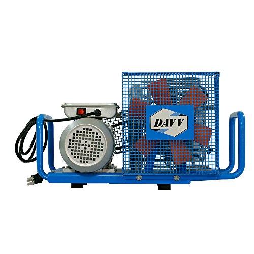 HPDAVV High Pressure Air Compressor - 1.5kw / 2HP - 110v/60Hz - 3.5cfm @ 4500 Psi - Scuba Tank/PCP Rife/Paintball Air Gun Filling Station
