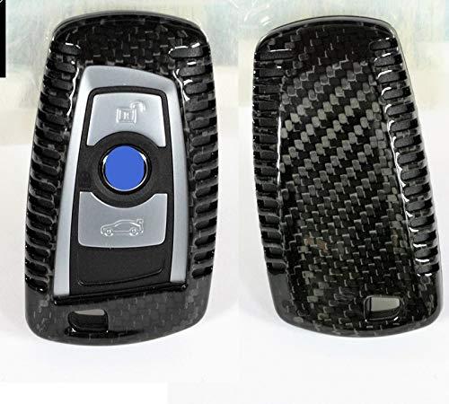 Echt Carbon Echt Kohlefaser Schlüssel Cover Hülle Etui Abdeckung passend für X1 X3 X4 X5 X6 X1 X3 X4 X5 X6 M2 M3 M4 M135i M235i M140i M240i 340i 440i