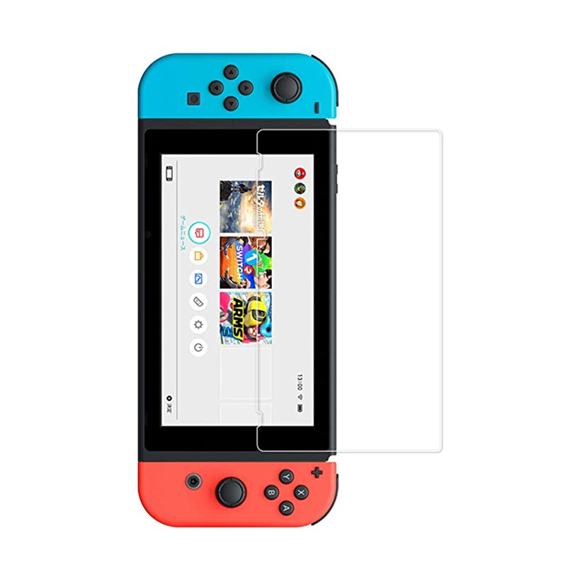 Hanku????Ultra Clear Transparent Pet Film Screen Protector for Nintendo Switch