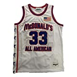 kekambas Men's McDonald's All American 33 Bryant Basketball Jersey Stitched White Size XL