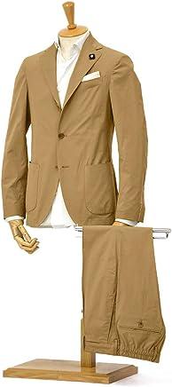 [LARDINI]【ラルディーニ】シングルスーツ JP087AQ/EGC52416/2 コットンストレッチ ベージュ