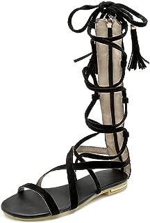 BalaMasa Womens ASL06872 Pu Fashion Sandals