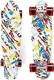 Skateboard Kinder 22'' Penny Board 55 cm Mini-Cruiser...