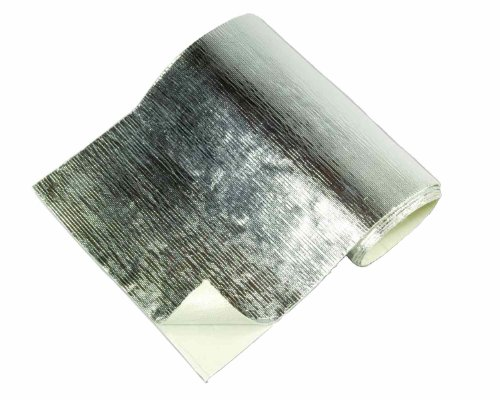"Thermo-Tec 13575 Adhesive Backed Aluminized Heat Barrier, 12"" x 24"""