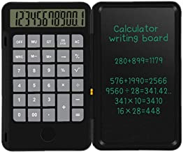 $22 » Calculator Writing Tablet Foldable Handwriting Board LCD Standard Calculator for Children Adults Home Office School Use Black