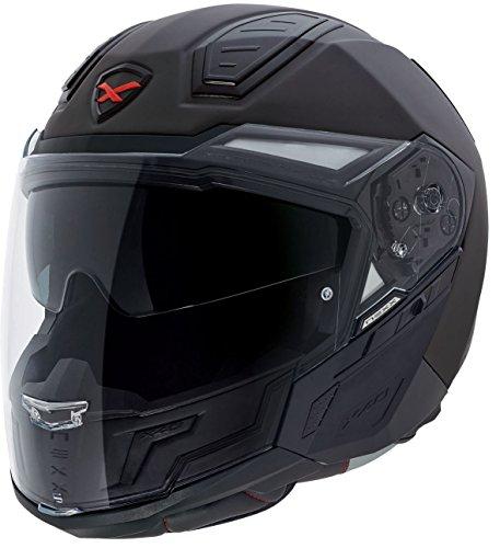 Nexx X40 Plain Maxijet Helm XS (53/54) Schwarz Matt