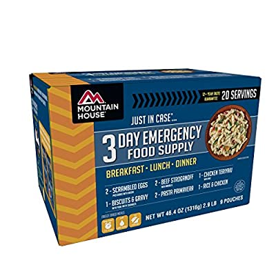 Mountain House 3-Day Emergency Food Supply Kit by Oregon Freeze Dry