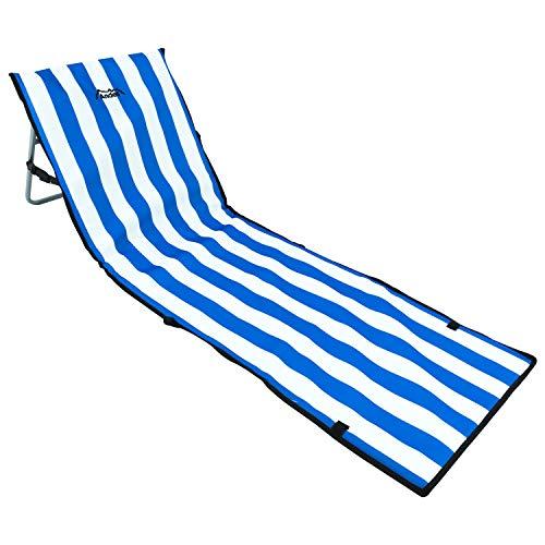 Andes Portable Folding BeachOutdoor Camping Lounger Mat Chair