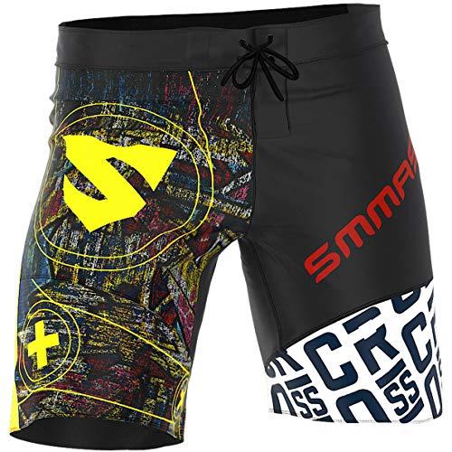 SMMASH Graffiti Pantalones Cortos Hombres