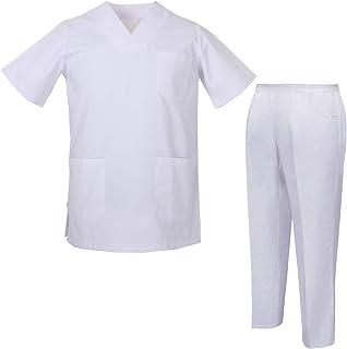 MISEMIYA Uniformes Casaca Y Pantalón - Uniformes Sanitarios Unisex Uniformes Médicos Enfermera Ddentistas Ref.8178