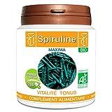 Spiruline BIO | 200 gélules | Vitalité Et Tonus | 250 mg dosage 100% naturel sans...