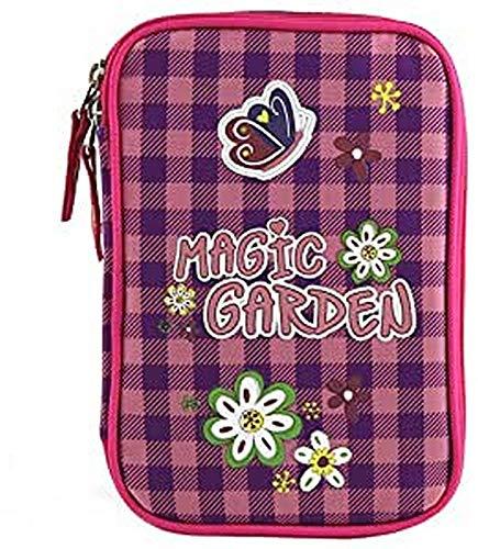 Cible Kids 'Magic Garden Trousse, Multicolore, Taille Unique