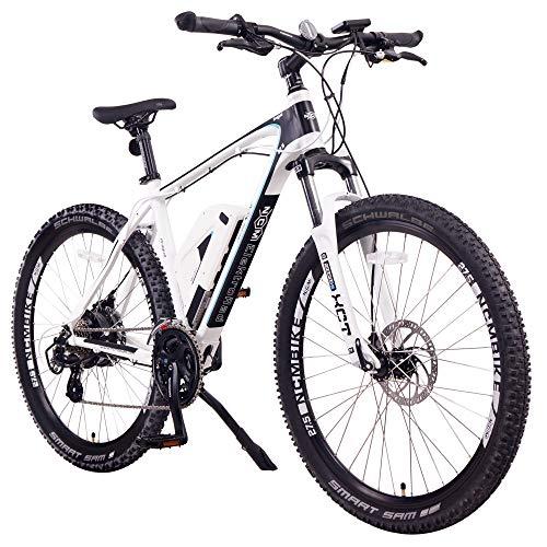 NCM Prague Electric Mountain Bike 468Wh 36V/13AH Matte Black 26'